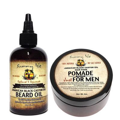 Sunny Isle Jamaican Black Castor Oil Beard Oil Amp Pomade