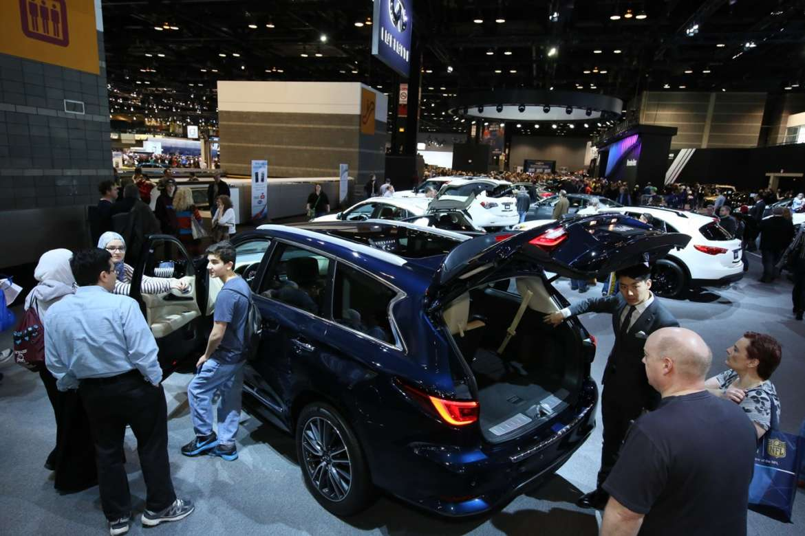 The Chicago Auto Show Returns To McCormick Place Next Month - Mccormick place car show