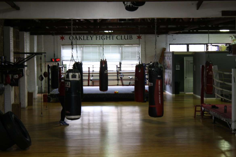 oakley fight club boxing