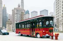 Holiday Lights Trolley Tour Chicago