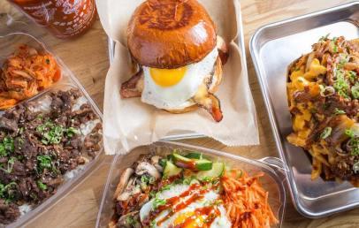 Winter Olympics Korean Food