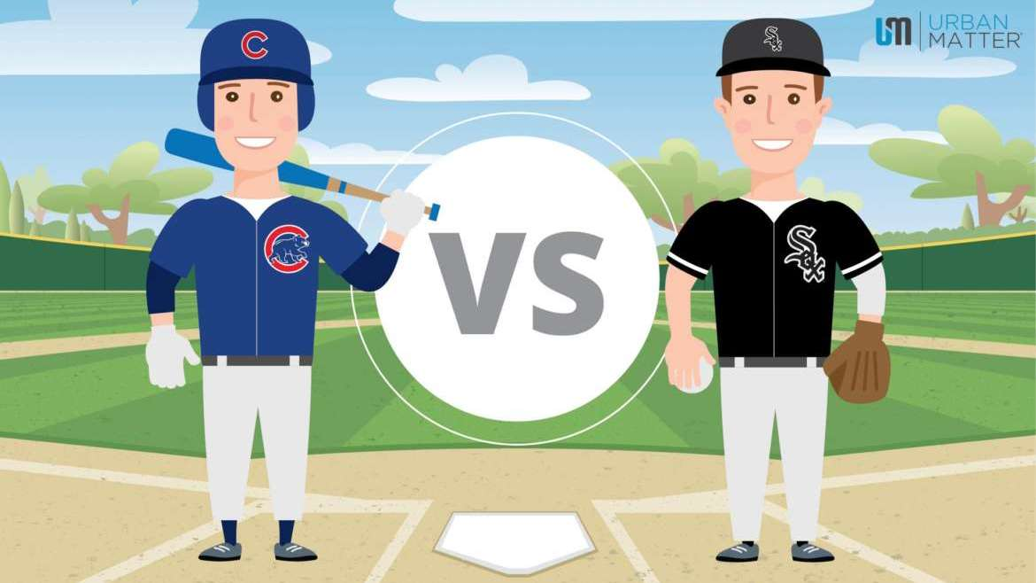 Cubs vs Sox Infographic