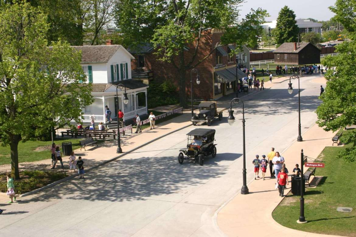 Greenfield Villages Mainstreet District