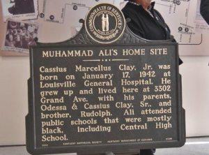 Muhammad Ali marker