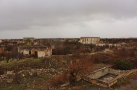 Agdam ghost town