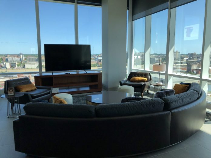 The Chairman's Suite at Potawatomi Hotel & Casino. Photo by Jeramey Jannene.