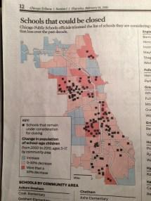 Chicago Public Schools Intersections