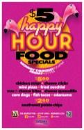 Urban Mo's $5 Happy Hour Food Specials