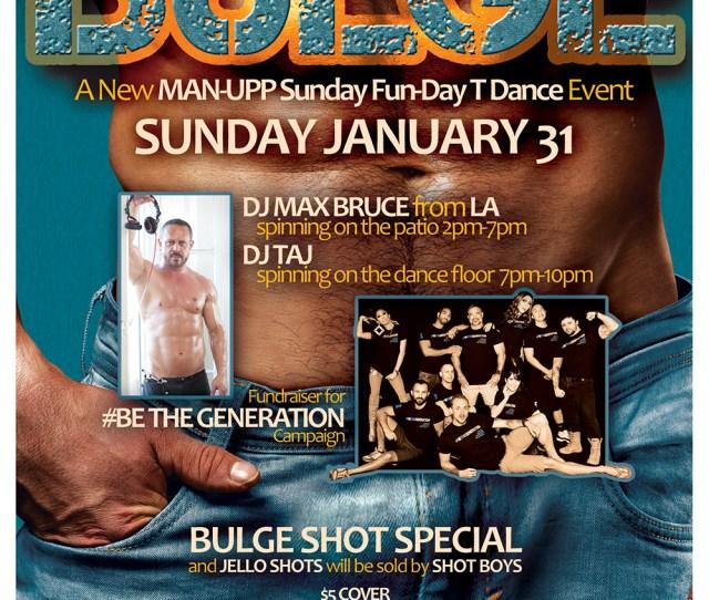Bulge At Urban Mos Bar Grill San Diego Hillcrest Sunday