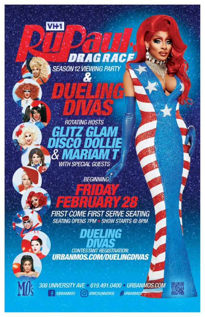 Drag Race Viewing Party & Dueling DIvas