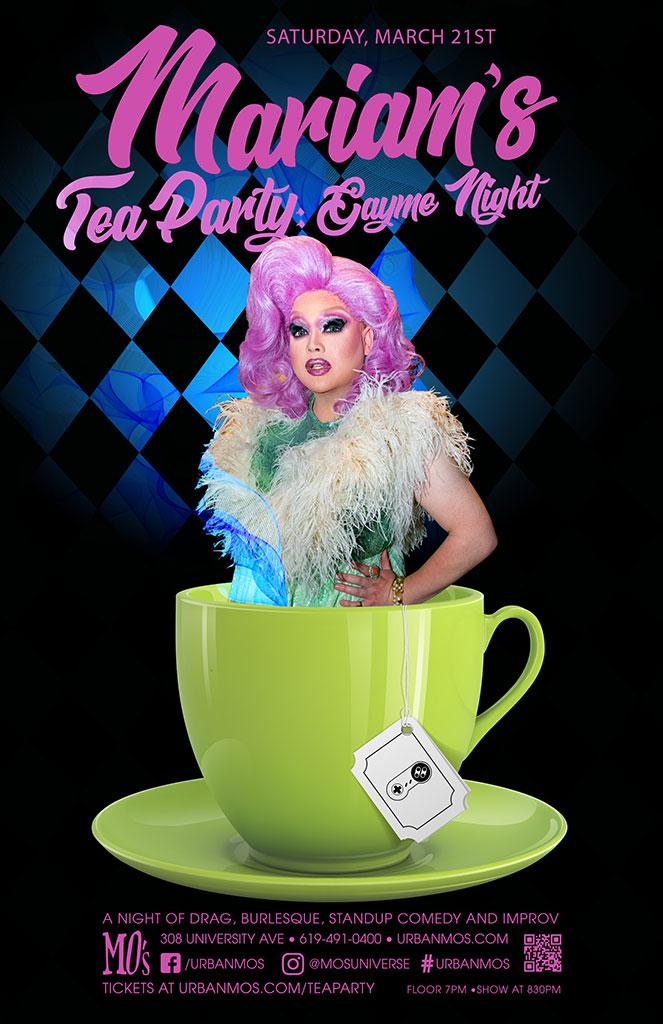 Mariam's Tea Party 3/21/20