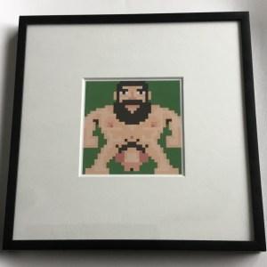 Naked Pixel Bear 1