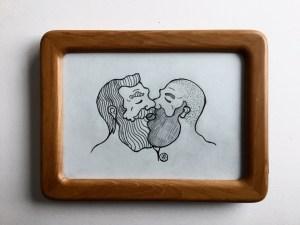 Man Kiss