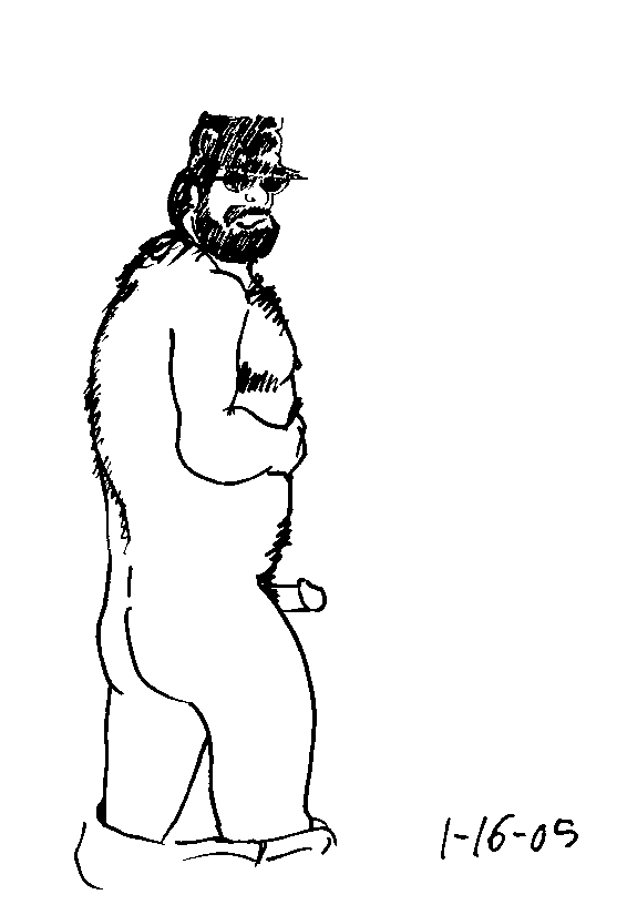 Pen and ink and pixels and dicks