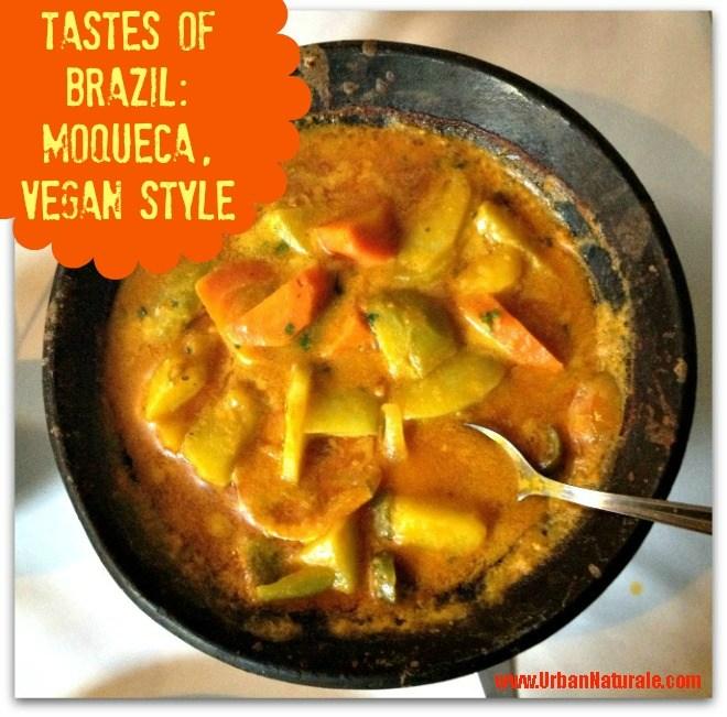 Tastes of Brazil:  Moqueca Stew, Vegan Style