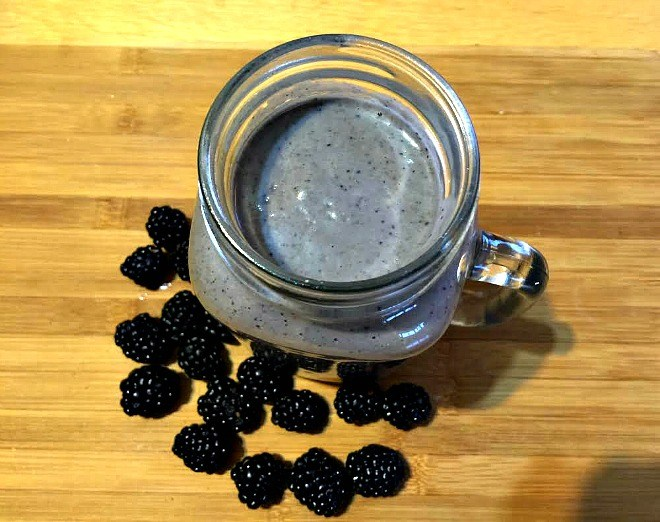 Give Your Health a Boost with a Blackberry Bliss Smoothie