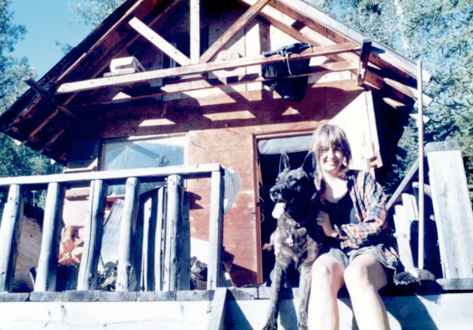 june and finlay on cabin deck