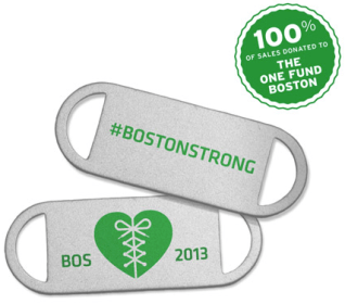 Saucony #BostonStrong Lace Medallions 2