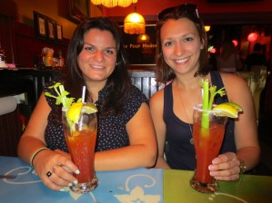 Birthday Bloodys at Pour House