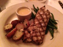 Mr. B's wood-grilled fish