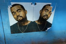 it was not so easy to find street art in amsterdam, but at least kanye made his way