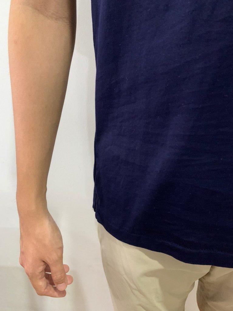 Uniqlo Supima T Shirt Hem