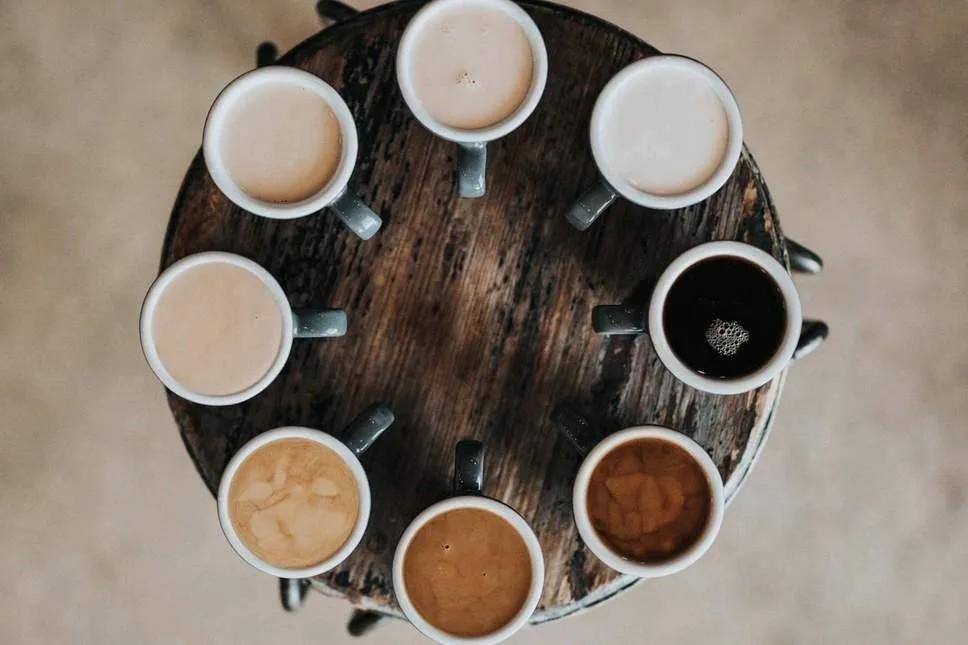 coffee tasteing