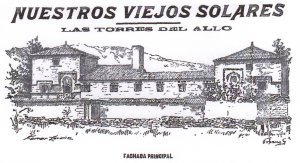 "The towers of the Allo. Illustration of the newspaper ""La Voz de Galicia"""