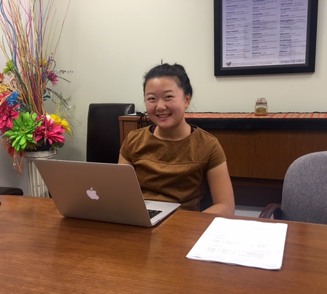 Urban Outreach welcomes new intern, Shirley Tang