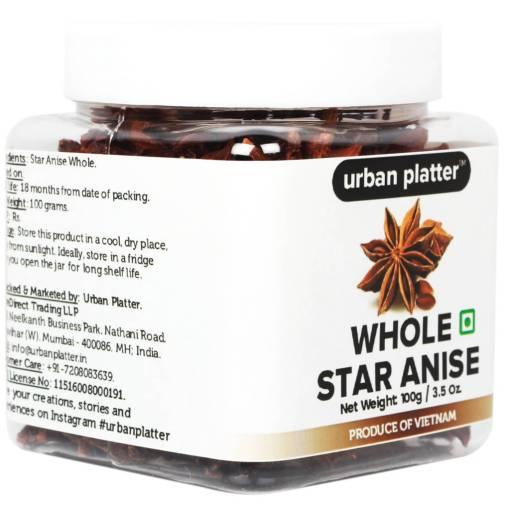Urban Platter Asian Star Anise (Chakri Phool), 100g