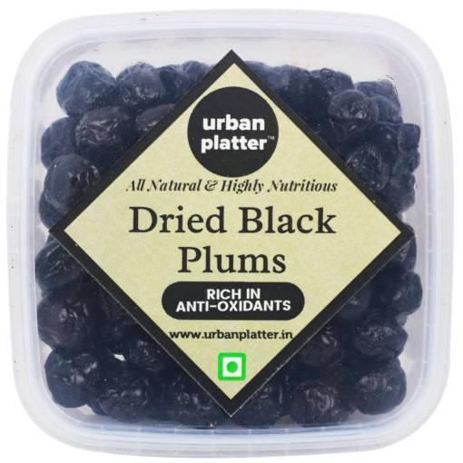 Urban Platter Dried Black Plums, 400g Tray