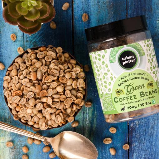 Urban Platter Green Coffee Beans, 300g