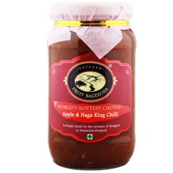 Kotgarh Fruit Bageecha Apple & Naga King Chilli Chutney, 450g