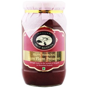 Kotgarh Fruit Bageecha Exotic Himachal Rum Plum Preserve, 450g