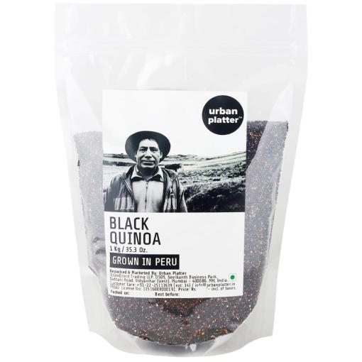 Urban Platter Black Quinoa (Grown in Peru), 1Kg