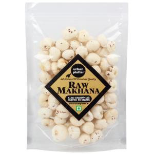 Urban Platter Puffed Fox Nuts (Unroasted Makhana), 200g