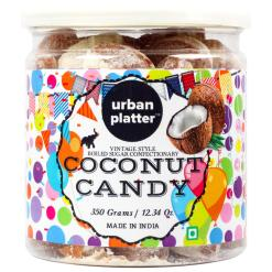 Urban Platter Coconut Candy, 350g / 12.3oz [Vintage-style, Boiled Sugar Confectionery]