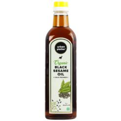 Urban Platter Organic Cold Pressed Mustard (Sarson) Oil, 500ml