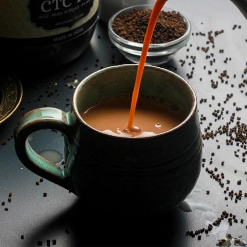 Urban Platter Kadak Assam CTC Tea, 400g Jar [Malty, Bold & Aromatic]