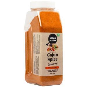 Urban Platter Cajun Spice Seasoning Shaker Jar, 450g / 16oz [Premium Quality, Spicy & Herby]
