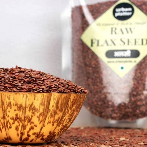 Urban Platter Flax Seeds, 1Kg [Raw, Rich in Omega-3, Heart-healthy]