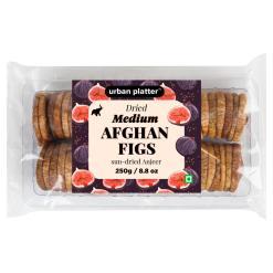 Urban Platter Dried Medium Afghan Figs (Anjeer), 250g / 8.8oz [Sun-Dried Anjeer]