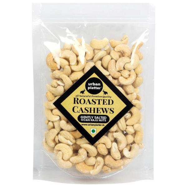 Urban Platter Roasted Salted Bold Cashew Nuts, 1Kg / 35.2oz [All-natural and Grade-W240]