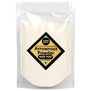 Urban Platter Arrowroot Powder, 1Kg [HoReCa Pack]