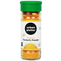 Urban Platter Organic Turmeric Powder, 50g [Fairtrade & USDA Certified]