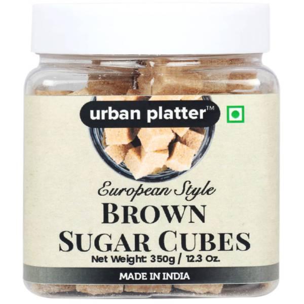 Urban Platter European Style Brown Sugar Cubes, 350g