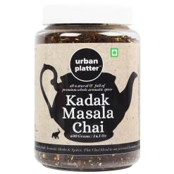 Urban Platter Kadak Masala Chai, 400g [All Natural & Full of Premium Whole Aromatic Spices]