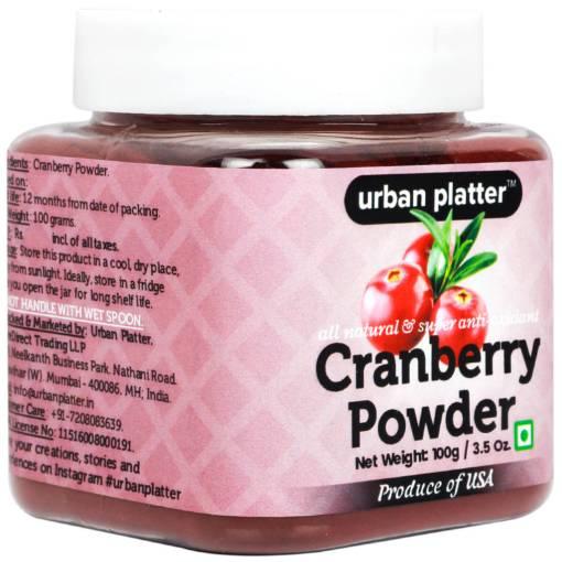 Urban Platter Cranberry Powder, 100g [Rich in Vitamin C & Nutrient-Dense]
