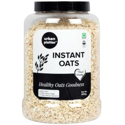 Urban Platter Instant Oats Jar, 800g [Healthy Oats Goodness]