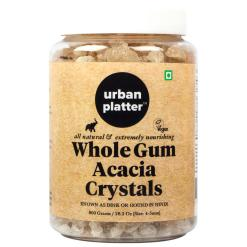 Urban Platter Gum Acacia Crystals, 800g [Dink, All Natural, Vegan & Extremely Nourishing]